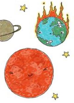 BYE BYE EARTH, HELLO MARS!